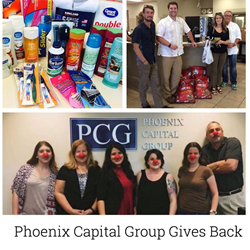PCG gives back
