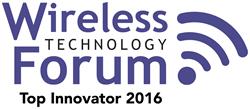 Wireless Forum Top Innovator Award 2016