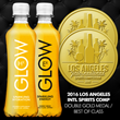 GLOW Sparkling Energy Ex Takes Top Prize for Energy Drink Mixer at The Los Angeles International Spirits Competition