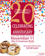 House of Bread Celebrates Their 20 Year Anniversary on November 11