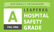 "Salt Lake Regional Medical Center and Davis Hospital and Medical Center Earn ""A"" Grade for Patient Safety From Leapfrog Hospital Safety Grade"