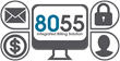 8055 provides simplified billing and customer management processes in a secure environment.