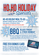 Participating Red Hot & Blue Restaurant Locations Offer Holiday Specials