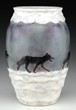 Lot 1102, a Rousseau Wolf Vase estimated at $30,000-40,000.