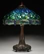 Lot 1259, a Tiffany Dragonfly Lamp estimated at $120,000-180,000.