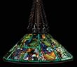 Lot 1294, a Tiffany Grape Trellis Lamp estimated at $100,000-150,000.