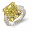 Lot #1499, a 10.02ct Yellow Diamond Ring estimated at $150,000-200,000.