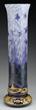 Lot #1020, a Daum Violet/Locust Vase estimated at $25,000-35,000.