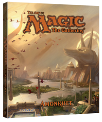 Fourth book in the art series, THE ART OF MAGIC: THE GATHERING - AMONKHET, debuts July 2017!