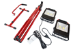Dual LED Work Light on Adjustable Tripod with Removable Base