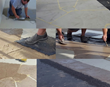 concrete thin overlay to make flagstone look