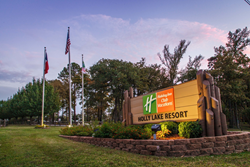 Holly Lake Resort is one of three resorts to join the Holiday Inn Club Vacations brand.