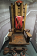 """Old Smokey"" Tennessee Electric Chair - photo courtesy of Alcatraz East, TN"