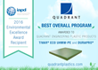 Quadrant Awarded Best Overall Program For Sustainability Measures at IAPD 2016 Environmental Excellence Awards