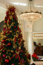 Christmas at the Bourbon Orleans Hotel, part of the New Orleans Hotel Collection