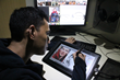 AnimaticmediaVR artist Godfrey E. transforming Benedict Cumberbatch's likeness into a comic book medium.