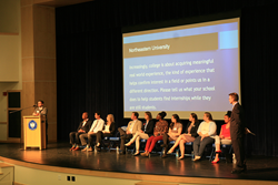 College representatives host a panel at Lexington Christian Academy