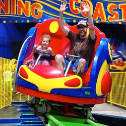indoor roller coaster