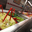 60-item salad bar