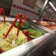 60-item salad bar