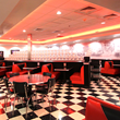 The Diner, one of four themed dining rooms at America's Incredible Pizza
