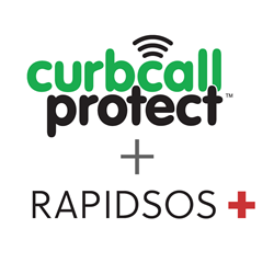 CurbCall and RapidSOS partner to add 9-1-1 Connectivity to home showing safety app for realtors.