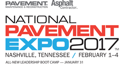 National Pavement Expo 2017 logo