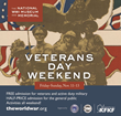 Veterans Day Weekend Events to Honor Those Who've Served Our Nation at the National World War I Museum and Memorial