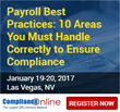 ComplianceOnline Announces Seminar on Payroll Best Practices
