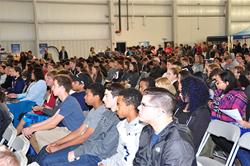 Over 700 students attended the 2016 Aviation Education and Career Expo