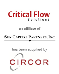 BlackArch Partners Advises on Sale of Critical Flow Solutions to CIRCOR International