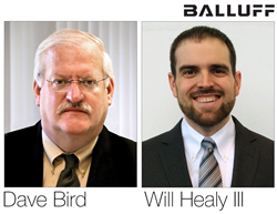 Balluff experts, Dave Bird and Will Healy III, present at FABTECH 2016.