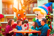 "Kids can meet Rudolph the Red-Nosed Reindeer & Friends at the ""Holly Jolly"" character breakfast"