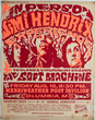 Avid Collector, Andrew Hawley, Announces His Search For Original 1968 Jimi Hendrix Merriweather Post Pavilion, Columbia, Maryland Concert Posters