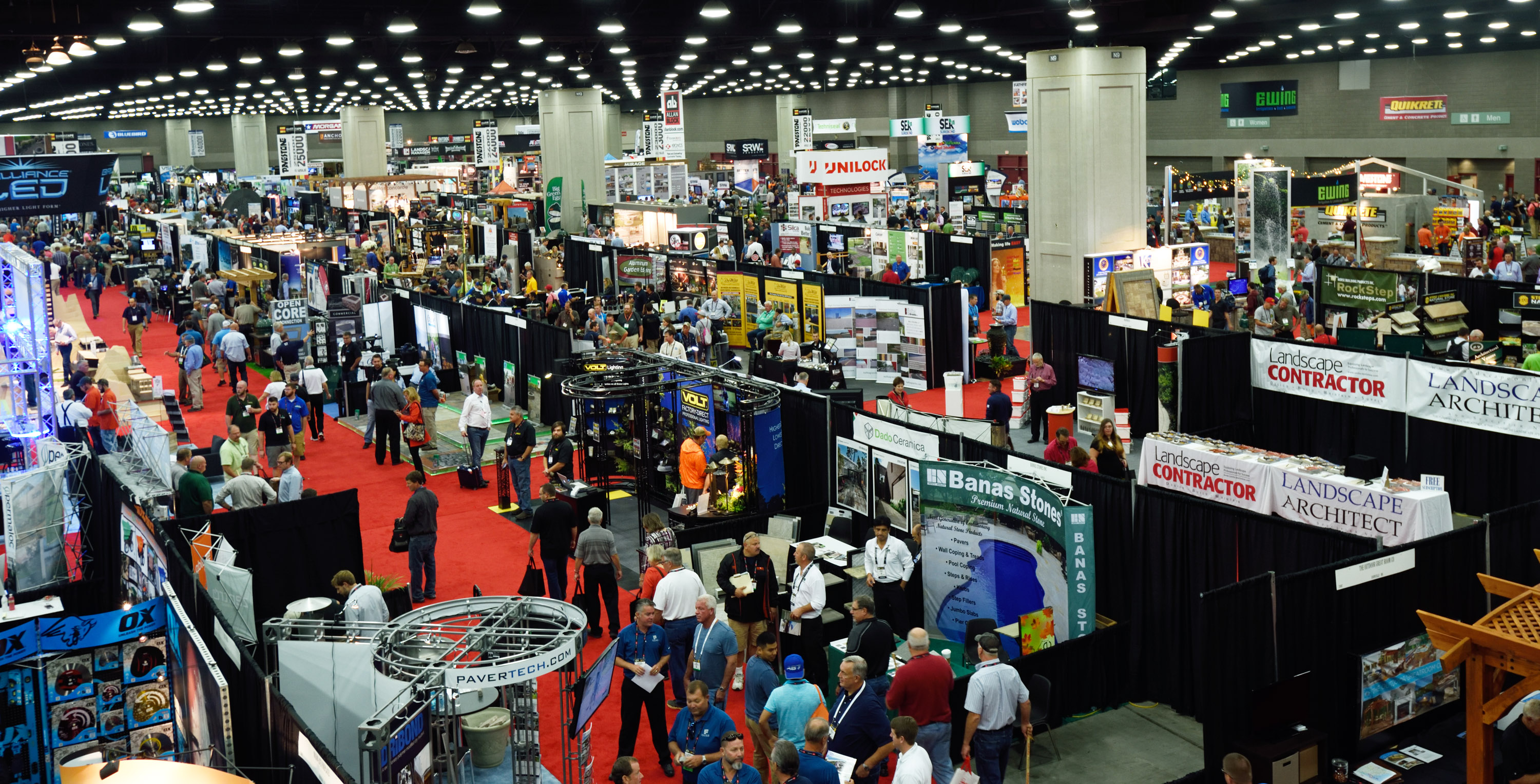 2016 hardscape north america trade show features record for Largest craft shows in the us