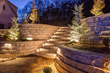 2016 HNA Hardscape Project Award Winner - Sloping Tennessee Backyard