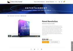 Pixel Film Studios Plugin - Panel Revolution - FCPX