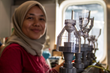 Nur Ili Hamizah Mustaffa applies high concentrations of salt to break the ionic interaction that attaches to cellular walls. This way she is able to effectively measure the amount of the enzyme in pho