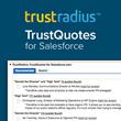 TrustRadius Announces TrustQuotes™ on the Salesforce AppExchange, the World's Leading Enterprise Apps Marketplace