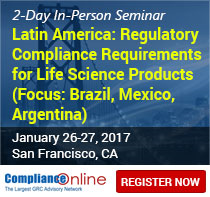 Latin America: Regulatory Compliance Requirements for Life Science Products