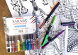 Zebra Pen Gets Things Down to a Fine Art With New Line of Sarasa Pens