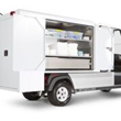 The new Carryall 700 Housekeeping Vehicle puts everything housekeepers need right at their fingertips.