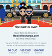 Starting November 14th, HablaCuba.com offers up to 90 CUC bonus for Cubacel recharges + 20 CUC as a prize