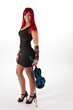 Fiery violinist Natasha Ratz in Arkenstone's Winter Fantasy