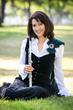 Grammy winning flutist Susan Craig Winsberg in Arkenstone's Winter Fantasy