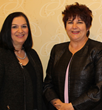 Renee Lévesque, administrative director, Jansen Hospice and Palliative Care, and Michelle Quirolo, president/CEO, Visiting Nurse Association of Hudson Valley (Hospice Care in Westchester and Putnam)