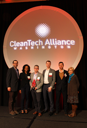 McKinstry Accepts the 2016 CleanTech Achievement Award
