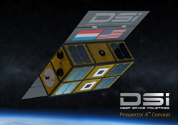 Prospector-X spacecraft concept