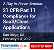ComplianceOnline Announces On-Demand Seminar on 21 CFR Part 11 Compliance to be Held in CA and PA