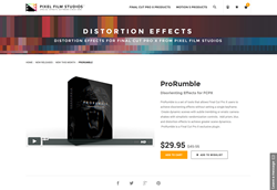 FCPX Plugin - ProRumble - Pixel Film Studios